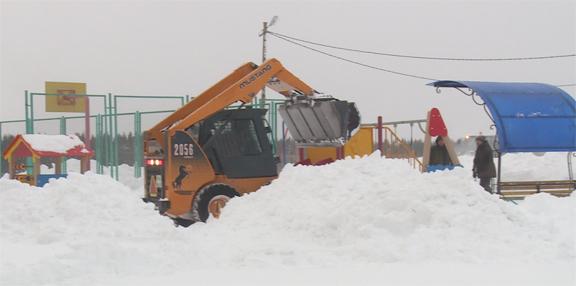 Горожане смогут узнать план ежедневной уборки Нарьян-Мара от снега